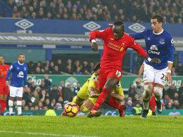 90.+4! Mané wird zu Liverpools Derby-Matchwinner