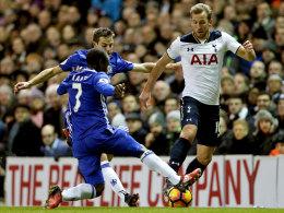 Zwei Kopfbälle! Alli verhindert Chelseas Rekord