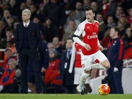 Wenger will Özil-Interview nicht überbewerten
