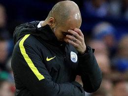 Titel nach Debakel abgehakt: Guardiola in der Kritik