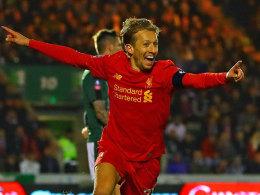 LIVE! Liverpool wenig souverän - Lucas trifft per Kopf