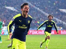 Arsenal-Star Özil: Duell mit Bayern war kein Lospech
