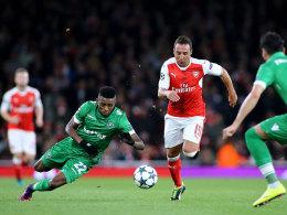 Bitter für Arsenal: Saison für Cazorla beendet
