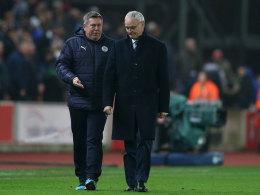 Interimscoach: Kein Spieler-Aufstand gegen Ranieri