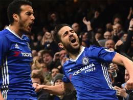 Fabregas trifft für Chelsea beim Jubiläum