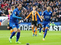 Leicester siegt schon wieder - und Arnautovic hilft