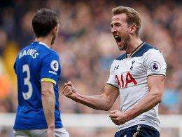 Kane sorgt für Spurs-Rekord - Sané trifft für ManCity