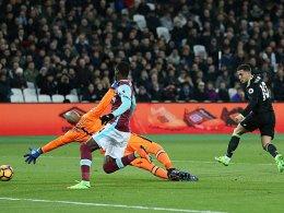 Eiseskälte: Pedro und Costa frieren West Ham ein