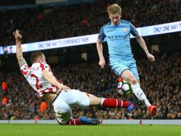 Rückschlag für ManCity - Nur ein Punkt gegen Stoke