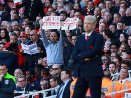 Nach Protesten: Wenger will Fan-Meinung berücksichtigen