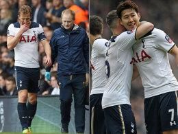 Tottenham überfährt Millwall - Sorgen um Kane