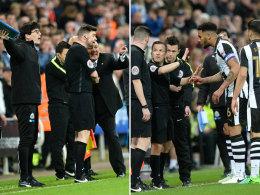Benitez kocht: Bizarrer Schiri-Fehler in Newcastle