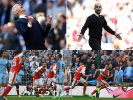 Finale mit Özil: Arsenal schlägt Sanés ManCity nach Verlängerung