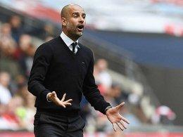 Kein Titel: Guardiola vor Manchester-Derby unter Druck