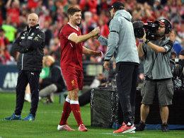 Gerrard über Klopp: