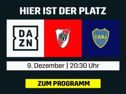 River Plate vs. Boca Juniors: Das verlegte Finale live bei DAZN