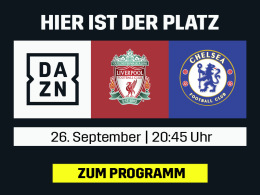 Liverpool vs. Chelsea: Das League-Cup-Duell live bei DAZN