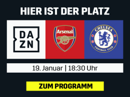 Derby in London: Arsenal vs. Chelsea live bei DAZN