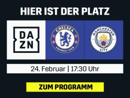 League-Cup-Finale: Chelsea vs. ManCity live bei DAZN