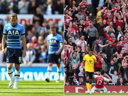 Der Tag, an dem Tottenham doch nicht an Arsenal vorbeizog