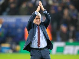 Southampton entlässt Hughes - Nachfolger Hasenhüttl?