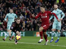 Firmino kontert kalte Dusche: Liverpool deklassiert Arsenal mit 5:1