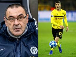 Pulisic-Transfer: Chelsea-Coach Sarri wusste nichts