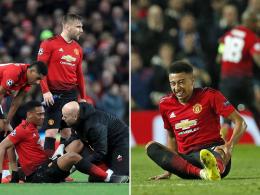 Ohne Martial und Lingard gegen Chelsea und Liverpool