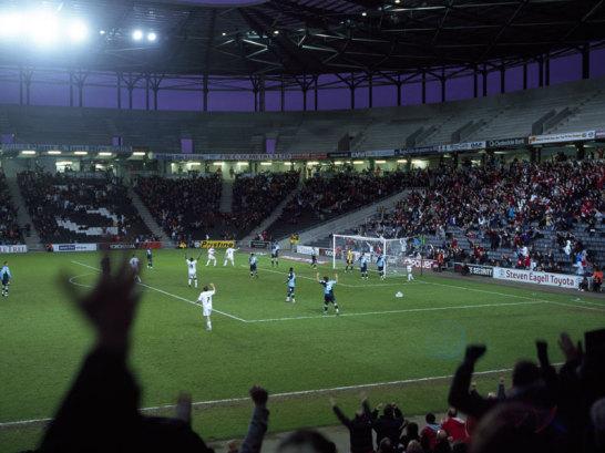 Stadion in Miltony Keynes