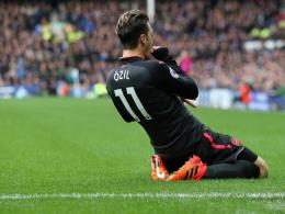 Trotz Rooneys Traumtor: Glänzender Özil beschenkt Wenger