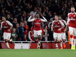 18-jähriger Nketiah bewahrt Arsenal vor Blamage