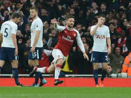 Derbysieg! Arsenals Heimserie hält auch dank Mustafi