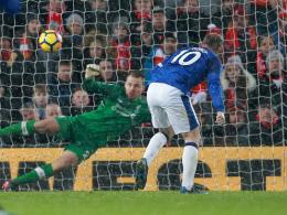 Rooney-Elfmeter kostet überlegene Reds den Derbysieg