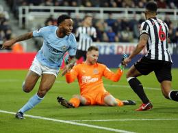Sterling beschert Guardiola den 18. Sieg in Serie