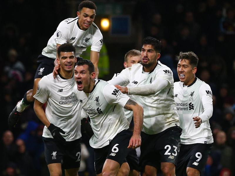 Liverpool schlägt Burnley in Nachspielzeit