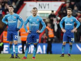 Arsenal verspielt ohne Özil und Sanchez eine Führung