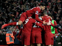 Salah aus 40 Metern - Liverpool schlägt City 4:3!