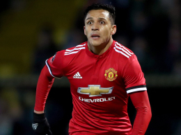 Sanchez schenkt Mourinho einen Assist beim Debüt