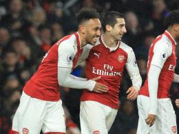 Arsenal furios! Aubameyangs Traumstart mit Schönheitsfehler