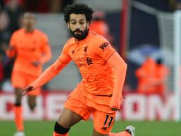 Roberto Firmino auf Salah - und andersherum