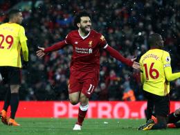 Viererpack! Salah führt Liverpool zum Sieg