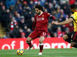 LIVE! Salah zum Zweiten - Liverpool voll auf Kurs