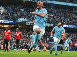 3:2 nach 0:2! United verhindert vorzeitigen City-Titel