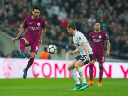 Gündogan vom Punkt: ManCity siegt bei den Spurs