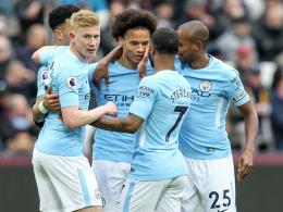 4:1 - Meister City lässt West Ham keine Chance