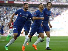 Dank Hazard: Chelsea zum 8. Mal FA-Cup-Sieger