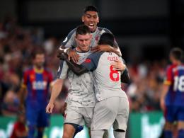 Reds halten Schritt: Schmuckloses 2:0 gegen Palace