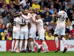 ManUnited zu cool für Watford - Mourinhos vielsagender Jubel