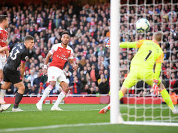 Nach Aubameyangs (Abseits-)Tor: Arsenal siegt weiter