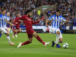 Huddersfields Dreifach-Pech: Nur Liverpool hält mit ManCity mit